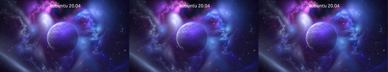 Xubuntu Lock Screen